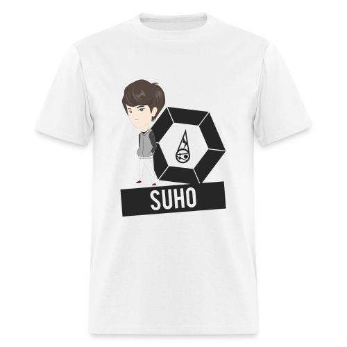 EXO - Chibi Suho (For Light Shirts) [Men's Shirt] - Men's T-Shirt
