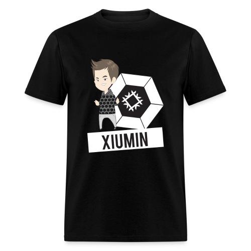 EXO - Chibi Xiumin (For Dark Shirts) [Men's Shirt] - Men's T-Shirt