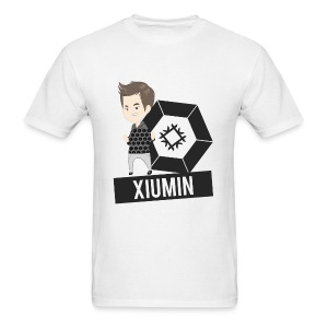 EXO - Chibi Xiumin (For Light Shirts) [Men's Shirt] - Men's T-Shirt