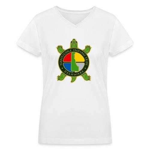 Nanticoke Indian Tribe - Women's V-Neck T-Shirt - Women's V-Neck T-Shirt
