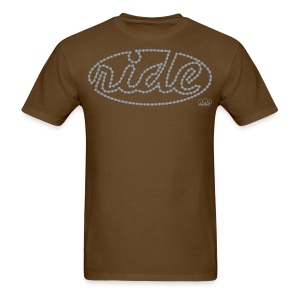 Men's Ride Standard weight t-shirt  - Men's T-Shirt