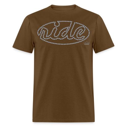 Men's Ride Standard weight t-shirt  - Men's T-Shirt
