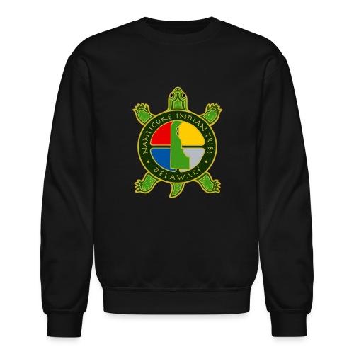 Nanticoke Indian Tribe - Men's Crewneck Sweatshirt - Crewneck Sweatshirt