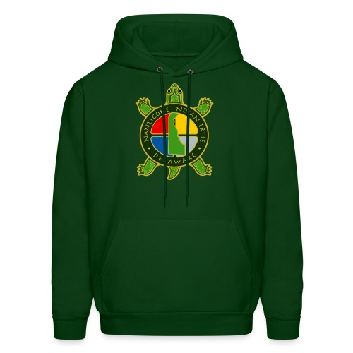 Nanticoke Indian Tribe - Men's Hooded Sweatshirt - Men's Hoodie