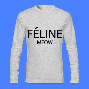 Feline Meow Long Sleeve Shirts - Men's Long Sleeve T-Shirt by Next Level