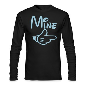 Mine Male Shirt - Men's Long Sleeve T-Shirt by Next Level