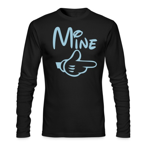 Mine Male Shirt - Men's Long Sleeve T-Shirt by Next Level