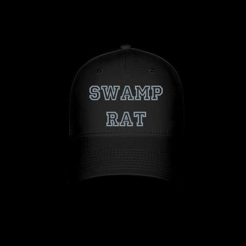 Swamp Rat Hat Silver - Baseball Cap