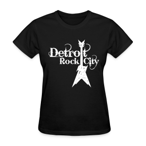 DETROIT ROCK CITY white - Women's T-Shirt