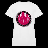 Women's T-Shirts ~ Women's V-Neck T-Shirt ~ Article 12572359