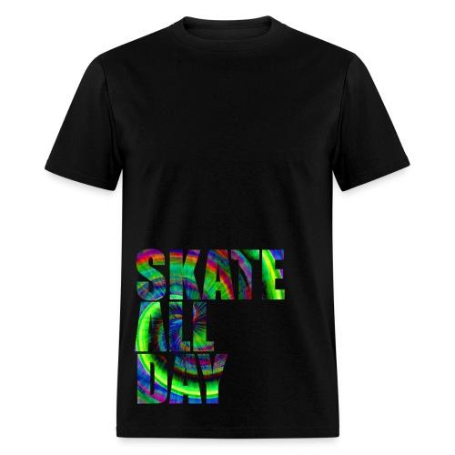 skate All Tie Dye Day - Men's T-Shirt