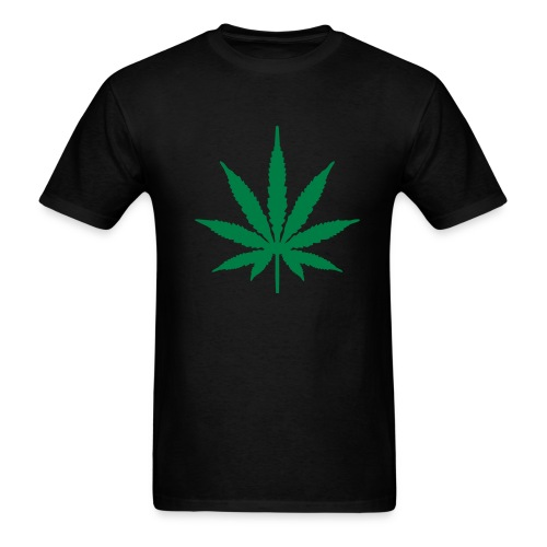 Weed Leef - Men's T-Shirt