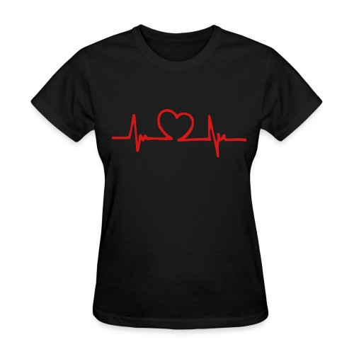 Heartbeat - Women's T-Shirt