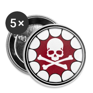 O.F. SKULL - Large Buttons