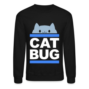 CATBUG - Blue Stripes - Crewneck Sweatshirt
