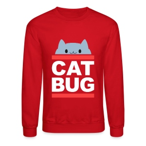 CATBUG - Red Stripes - Crewneck Sweatshirt
