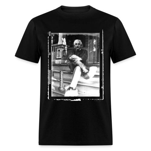 Einstein & His Bong - Men's T-Shirt
