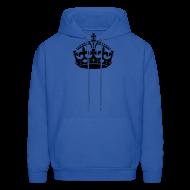 Hoodies ~ Men's Hoodie ~ Keep Calm Crown Hoodie