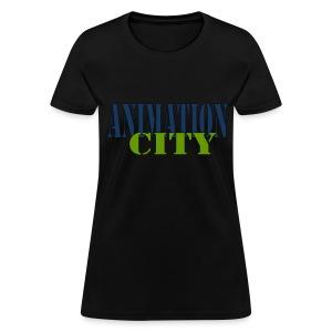 AnimationCity Tee (Womens) - Women's T-Shirt