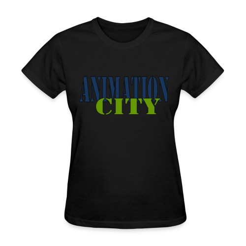 AnimationCity Tee (Womens) - Women's T-Shirt
