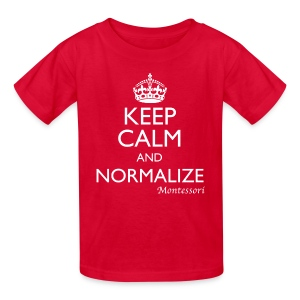 Keep Calm and Normalize - Kids' T-Shirt