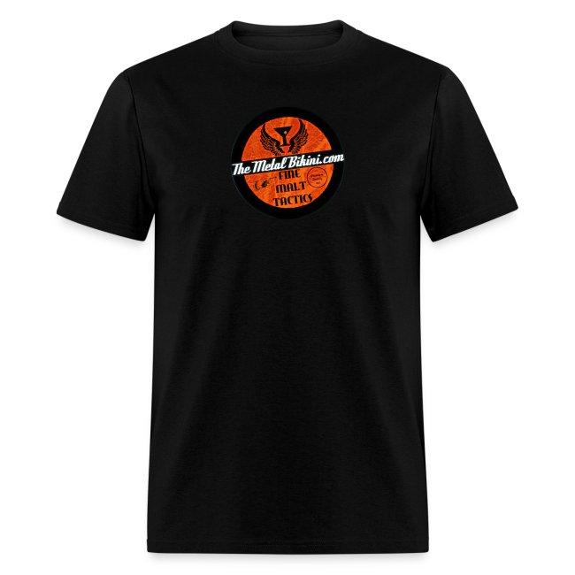 Double-Sided TheMetalBIkini.com Bar Staff T-Shirt