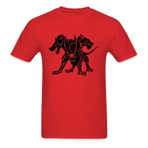 Cerberus (Black) Men's Standard Weight T-Shirt  - Men's T-Shirt