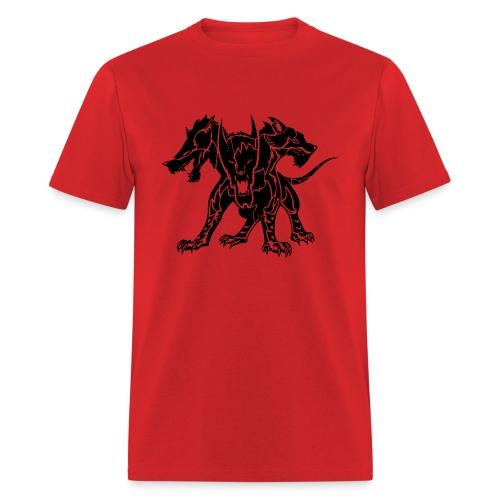 Cerberus (Black) Men's Standard Weight T-Shirt  - Men's T-Shirt