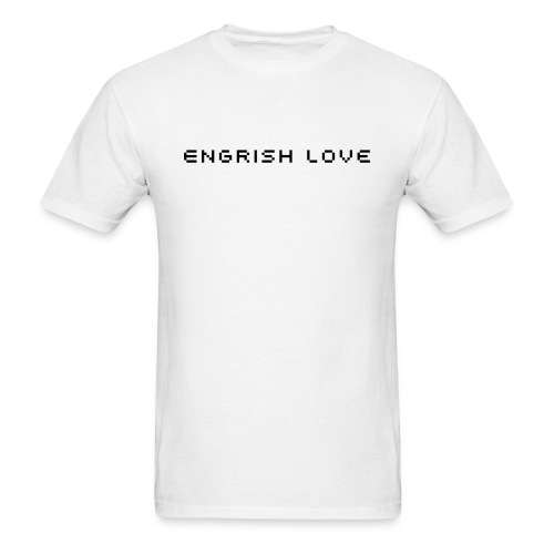 Engrish love - Men's T-Shirt