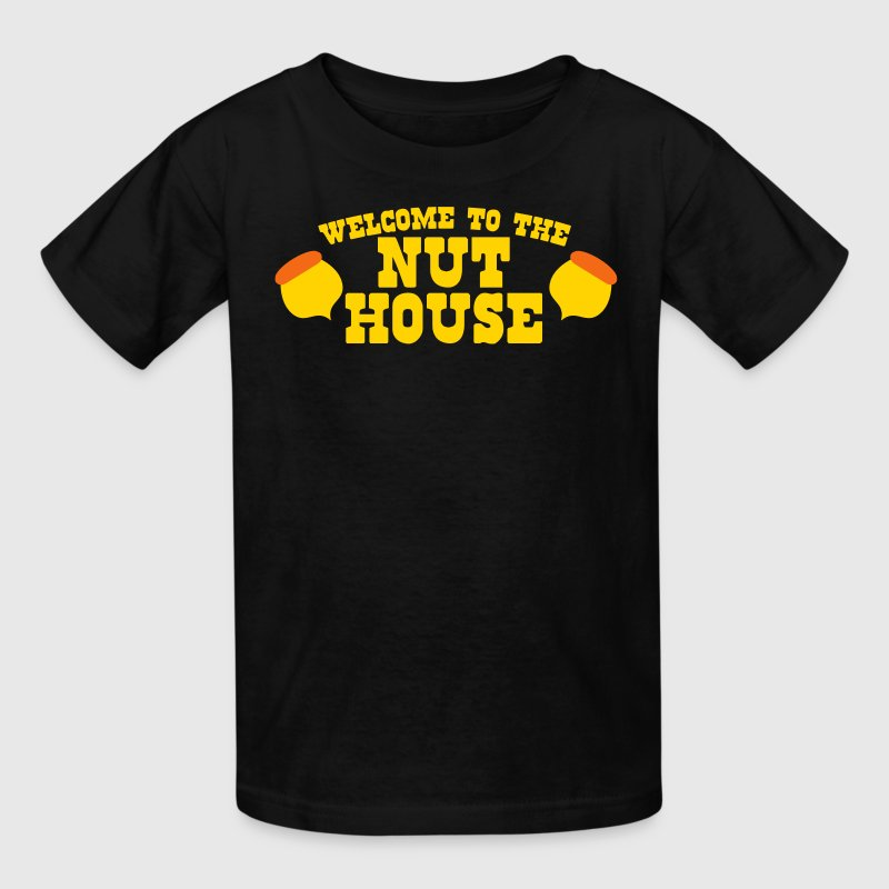 welcome to the NUT-HOUSE (Squirrel funny design) Kids' Shirts - Kids' T-Shirt