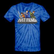 T-Shirts ~ Unisex Tie Dye T-Shirt ~ Hat Films - Locked n Loaded Unisex Tye Die T Shirt