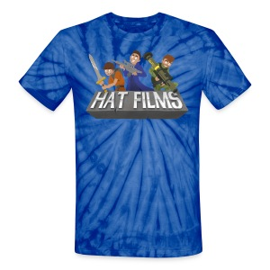 Hat Films - Locked n Loaded Unisex Tye Die T Shirt - Unisex Tie Dye T-Shirt