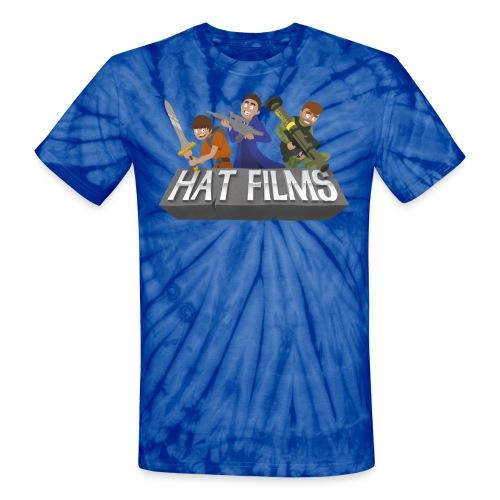 Hat Films - Locked n Loaded Unisex Tye Die T Shirt - Unisex Tie Dye T-Shirt