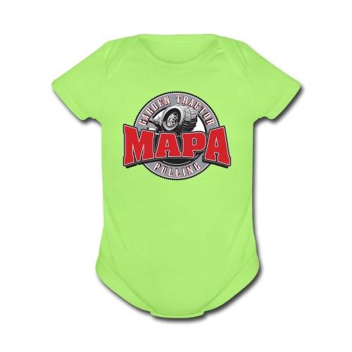 MAPA baby one piece - Organic Short Sleeve Baby Bodysuit