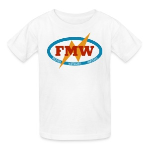 FMW white - Kids' T-Shirt
