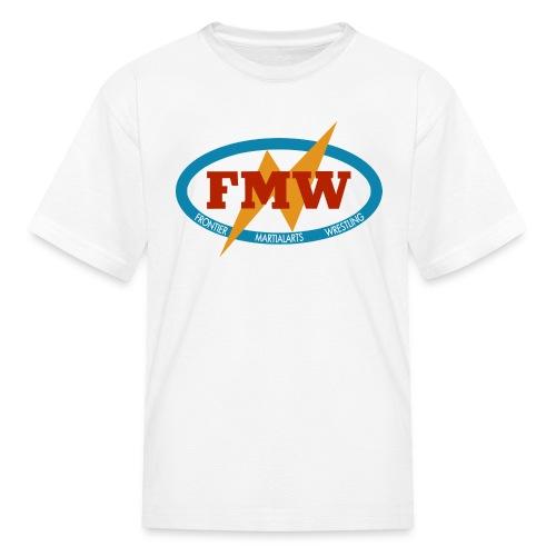 FMW white - Kids' T-Shirt