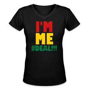 I'm Me Tshirt - Women's V-Neck T-Shirt