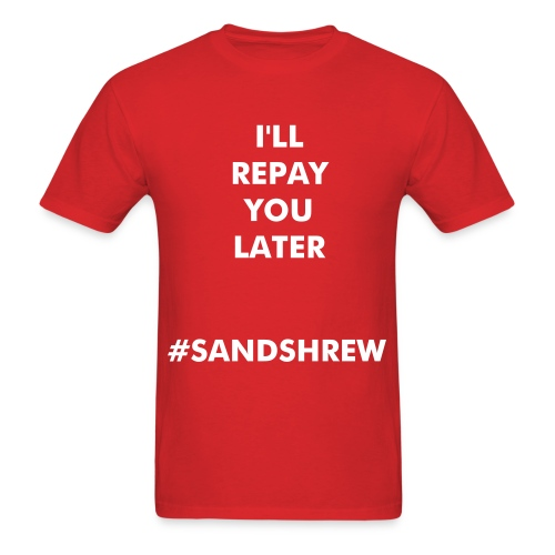SANDSHREW'D - Men's T-Shirt