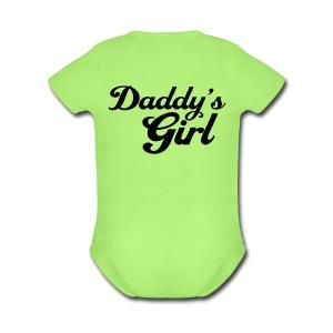 Daddy's Girl - Short Sleeve Baby Bodysuit