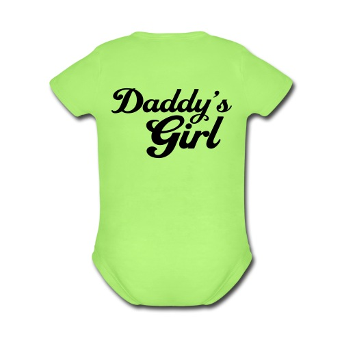 Daddy's Girl - Organic Short Sleeve Baby Bodysuit