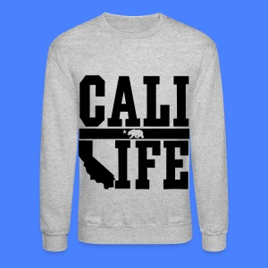 Cali Life Long Sleeve Shirts - Crewneck Sweatshirt