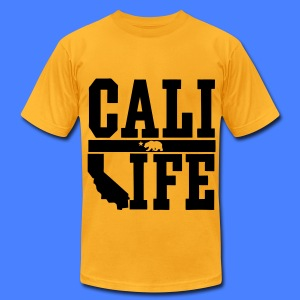 Cali Life T-Shirts - Men's T-Shirt by American Apparel