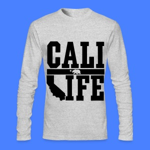 Cali Life Long Sleeve Shirts - Men's Long Sleeve T-Shirt by Next Level