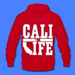 Cali Life Zip Hoodies/Jackets - Unisex Fleece Zip Hoodie by American Apparel