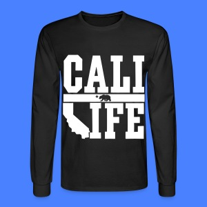 Cali Life Long Sleeve Shirts - Men's Long Sleeve T-Shirt