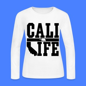 Cali Life Long Sleeve Shirts - Women's Long Sleeve Jersey T-Shirt