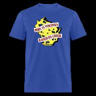 T-Shirts ~ Men's T-Shirt ~ Raised on Cheese (Digital Print)