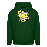 Hoodies ~ Men's Hoodie ~ Raised on Cheese (Digital Print)