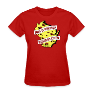 T-Shirts ~ Women's T-Shirt ~ Raised on Cheese (Digital Print)