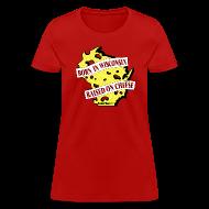 Women's T-Shirts ~ Women's T-Shirt ~ Raised on Cheese (Digital Print)